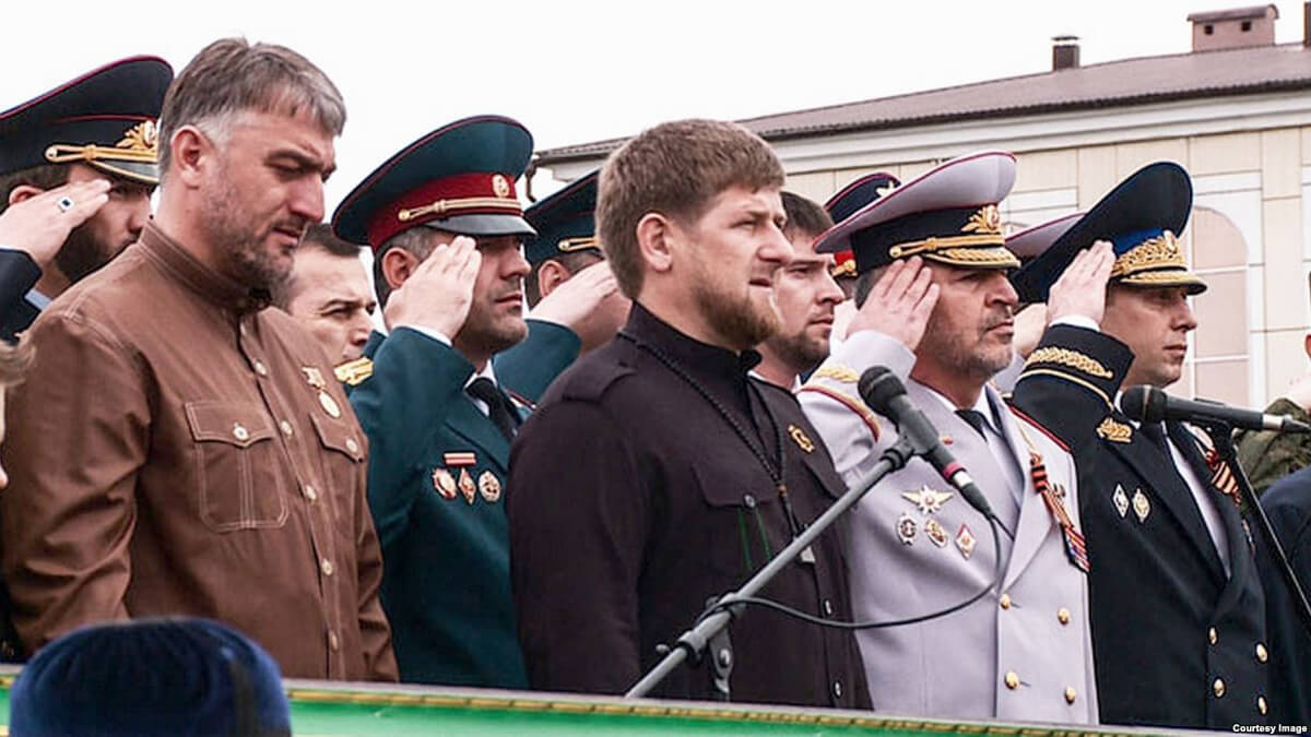 A still from the documentary Chechnya: War Without Trace by Manon Loizeau, which looks at life in Chechnya under Ramzan Kadyrov